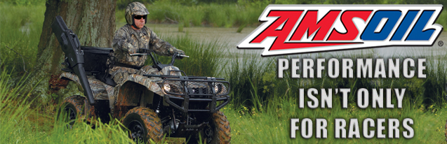 Amsoil products for ATV/UTV's