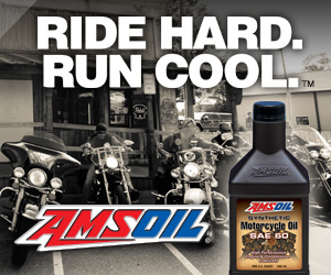 Amsoil synthetics for your motorcycle