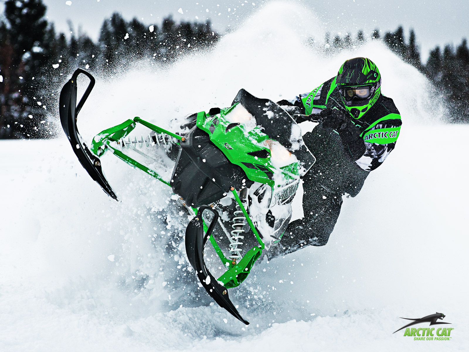 GGB Mountain can's for Arctic cat's
